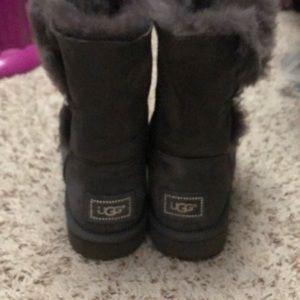 UGG Shoes - Size 8 grey Ugg boots Bailey with bling